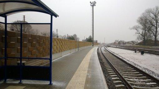Sumažės geležinkelio transporto keliamas triukšmas