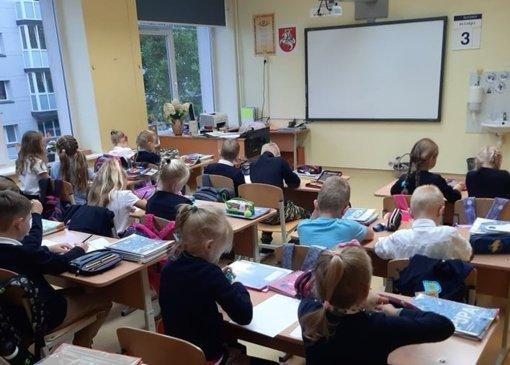 Mokykloms pavojingas išorinis pasaulis
