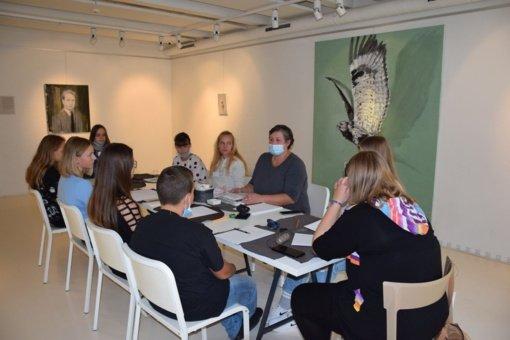 """""""Portfolio"""" meno galerijoje startavo kūrybinių dirbtuvių projektas"""