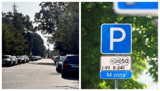 Mokamos automobilių stovėjimo vietos Alytuje: daugiau naudos ar nepatogumų?