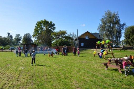 Kėbliškių parkas atvėrė savo paslaptis