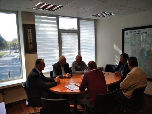 Savivaldybės vadovai susitiko su buriavimo sporto atstovais
