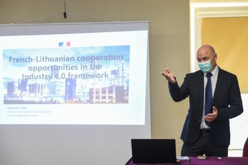 Prancūzija sieks didinti investicijas Panevėžio regione