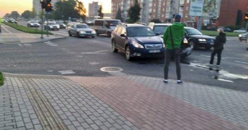 Dėl avarijų klaipėdiečiai kaltina neveikiančius šviesoforus