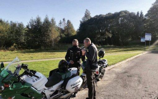 Į gatves išriedėjo Kelių policijos motociklai