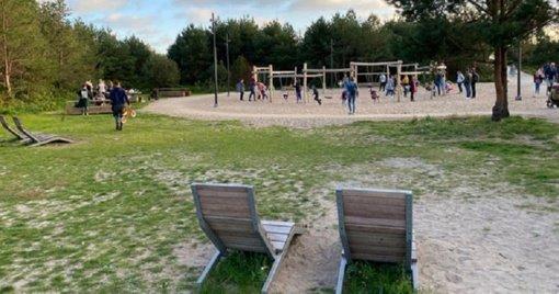 Tarp pajūrio kopų - Melnragės parkas
