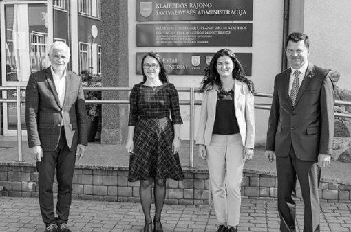 Gargždiškės iniciatyva – Moldovos ambasadoriaus vizitas