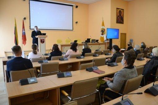 Vilniaus rajono socialinių paslaugų centro darbuotojams pristatyta Probacijos tarnybos veikla