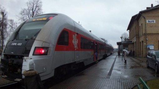 Traukinių triukšmas kelia problemas Šilutės gyventojams