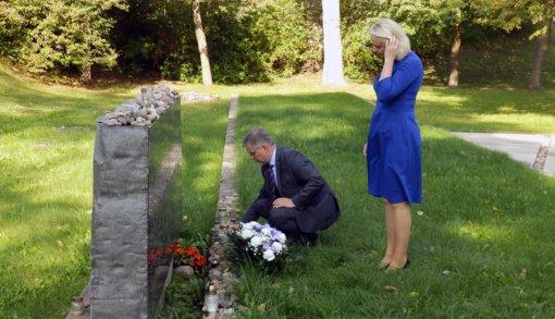 Lietuvos žydų genocido aukų dieną pagerbtas Molėtų žydų atminimas