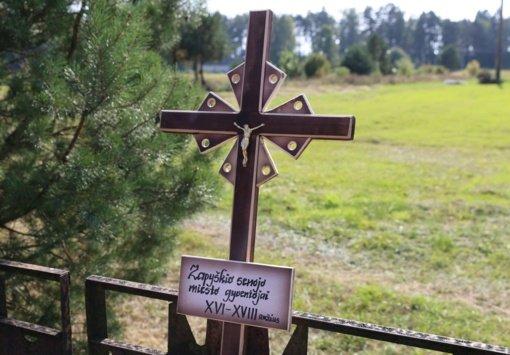 Senojo Zapyškio miestelio gyventojai atgulė į bendrą kapą