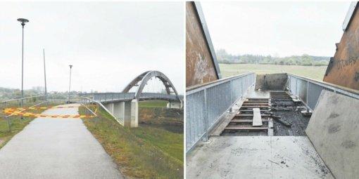 """Netrukus turėtų prasidėti """"Vaivorykštės"""" tilto remontas"""