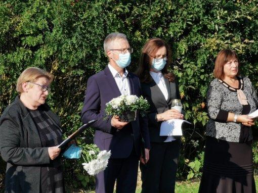 Jurbarke paminėta Lietuvos žydų genocido atminimo diena