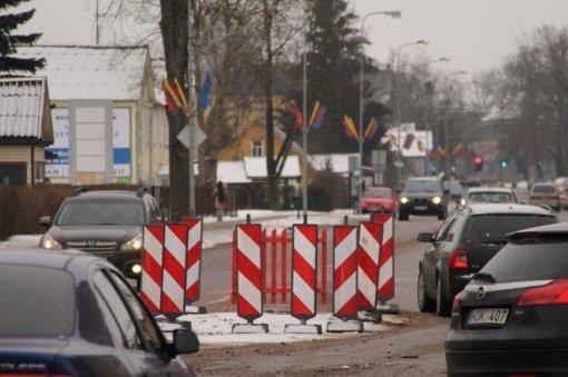Aušros gatvėje – baigiamieji darbai