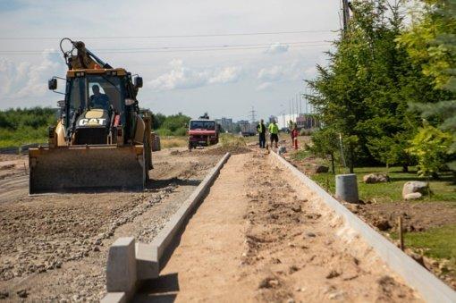 Kauno rajono savivaldybės ir Lietuvos automobilių kelių direkcijos bendri projektai