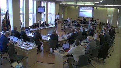 Posėdžiavo Utenos rajono savivaldybės taryba