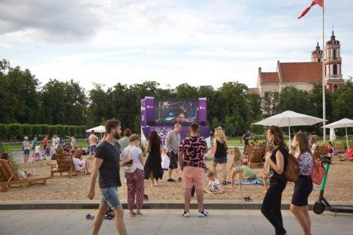 Vilniečių apklausa: dauguma teigiamai įvertino Lukiškių paplūdimį