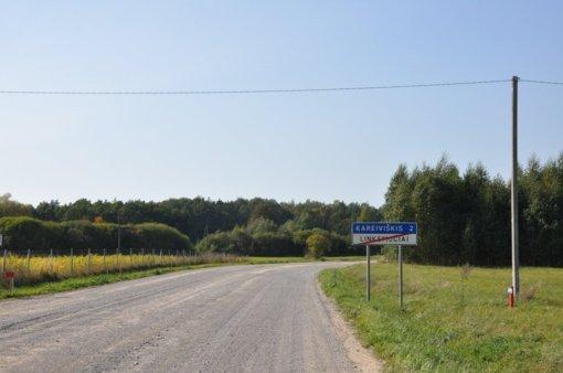 Prasidės pirmieji kelio Pakruojis-Lygumai tvarkymo ir asfaltavimo darbai