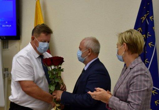 Mažeikių rajono savivaldybėje – naujas administracijos direktorius