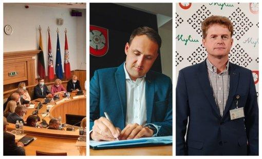 Tarybos narių reikalavimas – ant mero stalo
