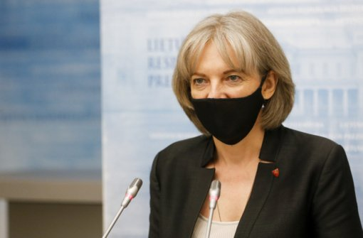 Prezidentūra tiksisi, kad spalį ES įves sankcijas 40 Baltarusijos pareigūnų