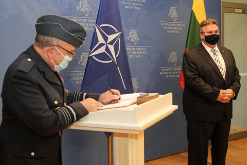 L. Linkevičius susitiko su NATO Karinio komiteto pirmininku