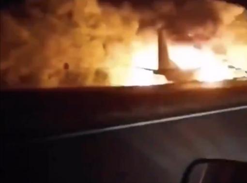 Ukrainoje sudužus kariniam lėktuvui žuvo 20 žmonių