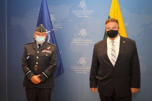 L. Linkevičius: po pandemijos pasikeitus pasauliui, turime galvoti apie inovatyvius tarptautinio bendradarbiavimo sprendimus