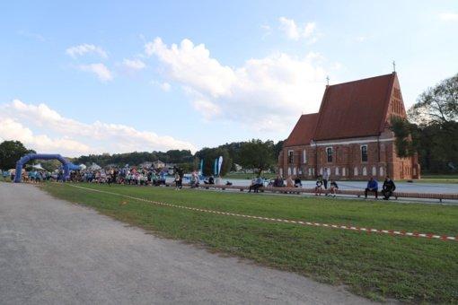 Beveik 300 jaunųjų sportininkų susirinko į Zapyškį