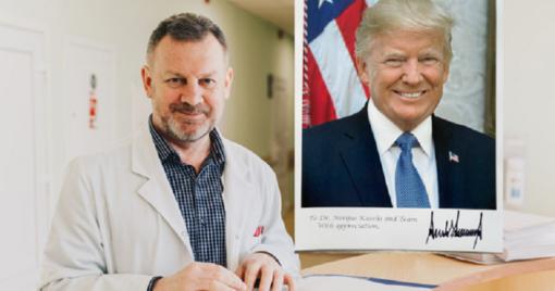 Uostamiesčio gydytojų profesionalumas sužavėjo ir JAV prezidentą
