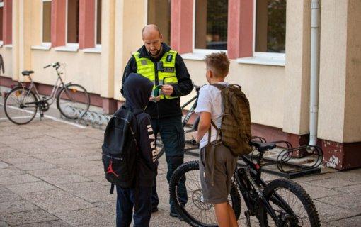 Savaitgalį – sustiprintas Klaipėdos kelių policijos dėmesys vairuotojams
