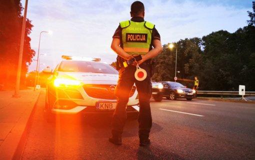 Kaišiadorių rajone policija pričiupo neblaivų dviratininką