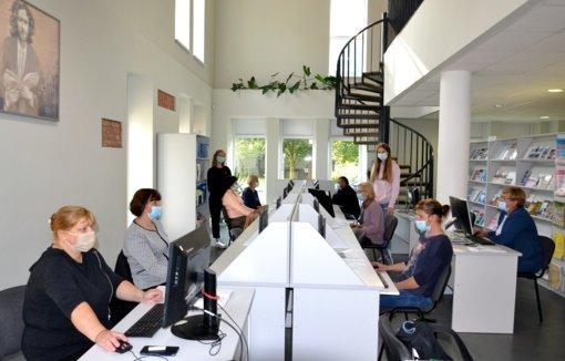 Vydūno bibliotekoje tęsiasi skaitmeninio raštingumo mokymai gyventojams