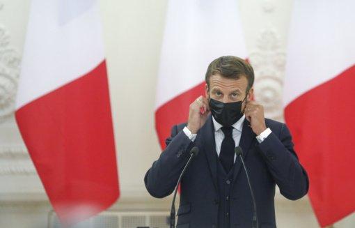 E. Macronas apie A. Navalno apnuodijimą: Rusija privalo išaiškinti visas aplinkybes