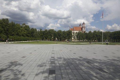 Seimo darbotvarkėje – vėl Lukiškių aikštė