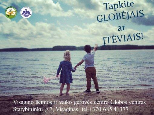 Specializuoti mokymai Visagino šeimos ir vaiko gerovės centro Globos centre