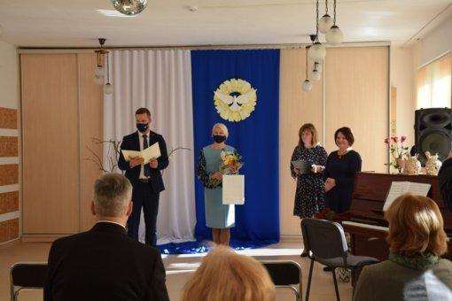 """Jubiliejaus proga pasveikinta lopšelio-darželio """"Gintarėlis"""" bendruomenė"""