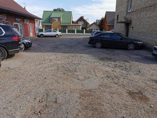 Jurbarke bus suremontuota dar viena automobilių aikštelė