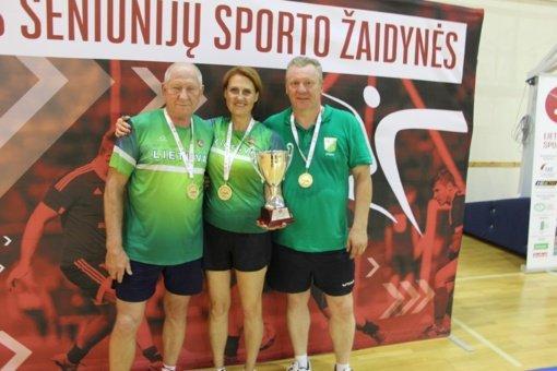 XIII Lietuvos seniūnijų sporto žaidynėms pasibaigus
