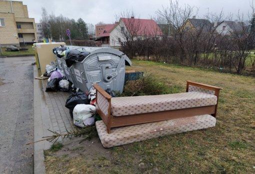 Pasvalyje ir rajone bus vykdomas didelių gabaritų atliekų surinkimas