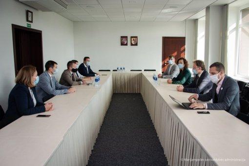 Marijampolėje lankėsi Ekonomikos ir inovacijų viceministrė