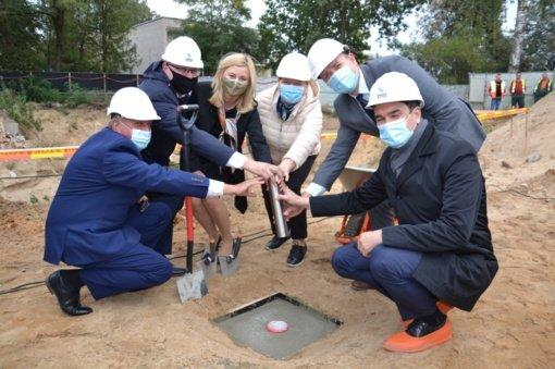Startuoja Rudaminos meno mokyklos būsimo pastato rekonstravimo projektas