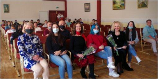 Putinų gimnazijoje – svečiai iš Klaipėdos universiteto