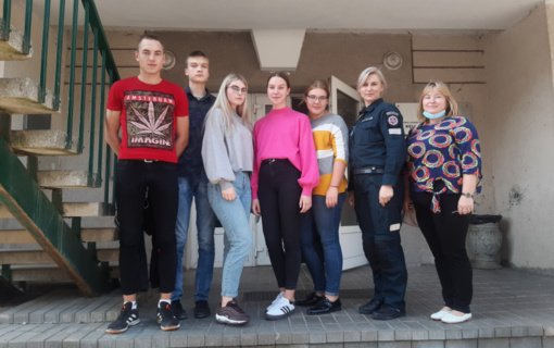 """Utenoje vyko teisinių žinių konkurso """"Temidė"""" II etapas"""