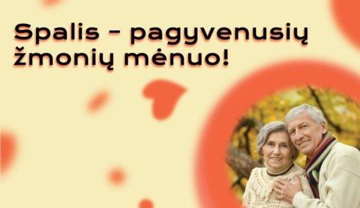 Spalis – Pagyvenusių žmonių mėnuo: šiemet Kaunas kviečia švęsti kitaip