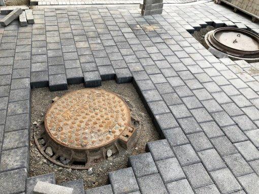 Šiaulių gatvėse mažėja įgriuvusių šulinių