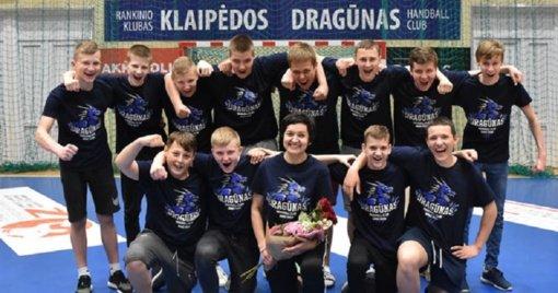 Klaipėdoje vyks Lietuvos jaunių rankinio čempionatų finalai