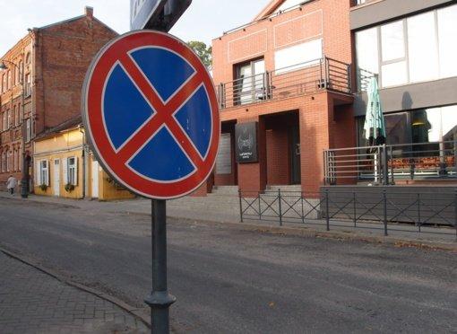 Informacija apie eismo pasikeitimus mieste
