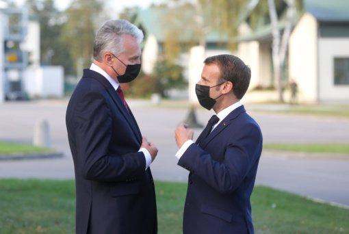 COVID-19 nustatytas dviem Prancūzijos Prezidento delegacijos Lietuvoje nariams