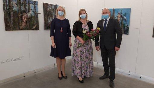 Tarptautinėje šiuolaikinio meno mugėje pristatoma Molėtų dailės galerija